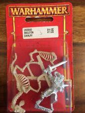 Morts-vivants Squelette cavalerie avec épée neuf blister Warhammer Épuisé