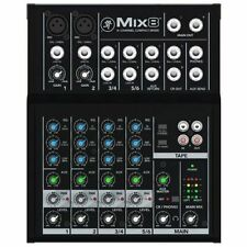 Mackie Pro Audio Mixers with Phantom Power