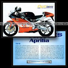 APRILIA RS 250 - Sport Bike Fiche Moto #OM1.47