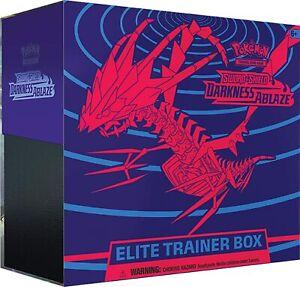 Pokemon TCG Sword & Shield - DARKNESS ABLAZE ELITE TRAINER BOX ETB - Brand New