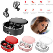 Bluetooth 5.0 TWS Earphones Stereo Headsets Earbuds for Samsung Huawei P30pro