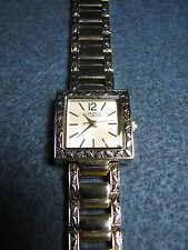 Caravelle by Bulova Silver Tone Ladies Analog Watch Runs 43L118