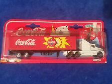 1997 Coca Cola Majorette Die Cast 1:87 Semi - Truck - COKE