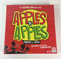 New Apples to Apples Card Game By Mattel Great For Parties!