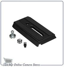 The Original Manfrotto 501PL Sliding Quick Release Plate for 501, 503 & NG Heads