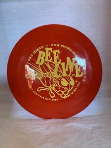 ABC Discs Long Range Driver PDGA Approved Golf Disc. Red. 174 grams