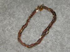 Bracelet-Mutli colour & Strand & Gold Plated