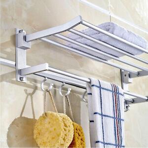 Wandhandtuchhalter Handtuchhalter Handtuchablage Badetuchstange 6 Stangen DE