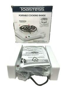 Toastess International THP432 White Portable Cooking Range In Box