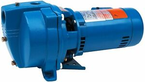 """Shallow Well Jet Pump - 26.5 GPM - 115/230V - 1Ph - 25' Head - 1.25"""" In & 1"""" Out"""
