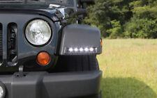 NEW Rostra Custom LED Fender Mount Daytime Running Light Kit / FOR 07-17 JEEP JK
