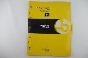 JOHN DEERE Battery Charger Arc Welder Technical Repair Manual TM1173 Factory OEM
