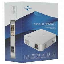 *NEW* Dune HD Traveler, Portable Projector w.4Kp60 HDR Media Player, Android
