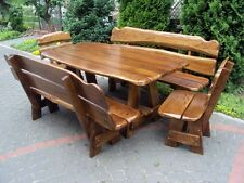 Handmade Wooden Garden Furniture
