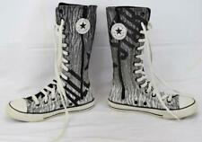 Converse All Sll-Star Chuck Taylor Knee High Tall Boots/Sneakers Glitter Junior