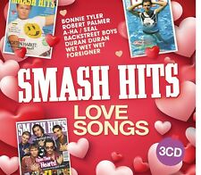 Smash Hits - Love Songs - New 3 CD Album - Pre Order - 19th Jan