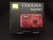 Nikon COOLPIX S6500 16.0MP Digital Camera - Red NEVER USED in original box
