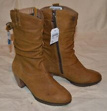 SOFTWAVES Stiefel Gr 38,5 Winterstiefel  100% Leder EDEL BEQUEM 179,- Euro MS223