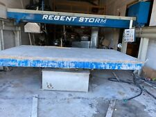 2004 Regent storm bridge saw used excellent condition made in Italy