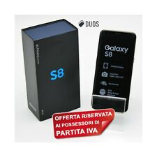 "SAMSUNG GALAXY S8 DUOS 64GB MAPLE GOLD 5,8"" DUALSIM G950FD G950F PER P.IVA-"
