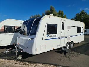 Quality Used 2019 Bailey Pegasus Grande Messina - 4 Berth, Rear Island Fixed Bed