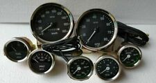 Smiths Kit 52mm Oil Temp oil Bar Fuel Volt Gauge Kph 100 mm Speedo Tacho Replica