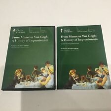The Great Courses 4 DVD FROM MONET TO VAN GOGH A HISTORY OF IMPRESSIONISM