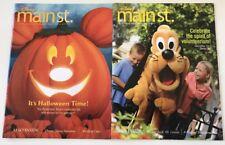 Lot Of 2 Disney Main Street Magazines (disneyland Resort)