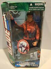 G.I. Joe Coast Guard Harbor Security, box unsealed but new, box damaged, 2004