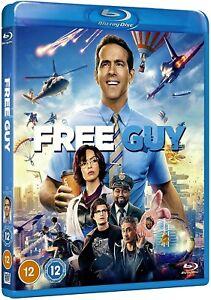 FREE GUY  BLU RAY  REGION FREE / BRAND NEW & SEALED / WORLDWIDE SHIPPING