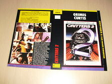 JAQUETTE VHS Critters 2 : The Main Course
