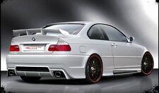 BMW Serie 3 E46 tutte vers 1998-2007 Alettone Spoiler Baule Posteriore Tuning