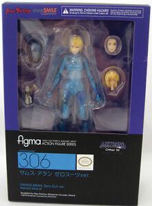 Figma Metroid Samus Aran Zero Suit Version action figure
