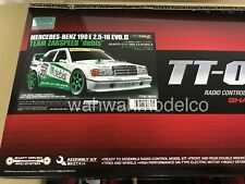 Tamiya 58656 1/10 RC Car Kit TT01E DEBIS Mereceds Benz 190E Evo II DTM w/ESC