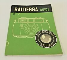 BALDESSA GUIDE by W. D. Emanuel  The Focal Press 1958 Edition