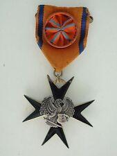 ESTONIA ORDER OF THE BLACK EAGLE OFFICER GRADE. RARE VF+