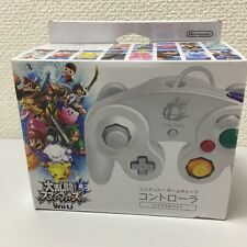 Nintendo Super Smash Bros White Gamecube Controller NEW
