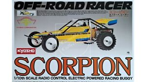 Kyosho 2014 Scorpion Off-Road Racer 1/10 2WD Electric Buggy Kit 30613B