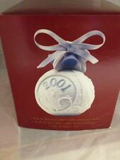 Lladro 2001 Christmas Ball New 16717