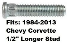 "1/2"" LONGER than Stock WHEEL STUD BOLT 1984-2013 Corvette C4 C5 C6 length 54mm @"