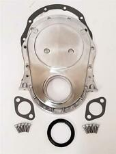 Big Block Chevy Polished Aluminum Timing Chain Cover Kit BBC 396 454 427 402 BBC