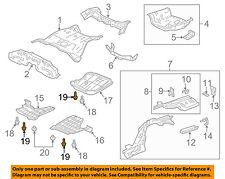 ACURA HONDA OEM Rear Bumper-Bumper Cover Bolt Right 90149SA0003