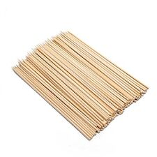 Bamboo BBQ Skewers 6 inches 100pcs S-3774