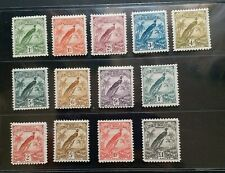 NEW GUINEA 1931 1d to £1 SG 150 - 162 Sc 18 - 30 Paradise set 13 MH