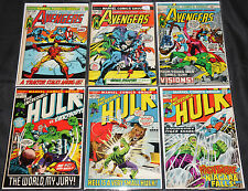 Marvel/Dc Bronze Age Superhero Titles 67pc Count Mid-High Grade Comic Lot 8.0Ob