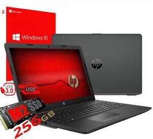 "NOTEBOOK HP 15,6"" AMD A4-9125 m.2 256GB RAM 4GB WINDOWS 10 PRO USATO"