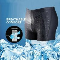 Men Slim Breathable Swim Trunks Pants Quick Dry Beachwear Swimwear Underwear