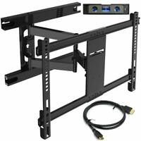 Everstone TV Wall Mount Bracket for Most 37-75 Inch Articulating Full Motion
