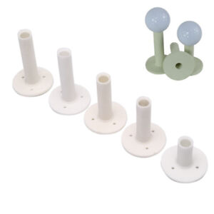 5pcs/set White Golf Rubber Tee 5 Different Size Tees Holders Rubber T bGB&KN