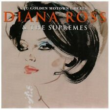 DIANA ROSS & THE SUPREMES 40 GOLDEN MOTOWN GREATS 2 CDDISCO MUSIC NEW